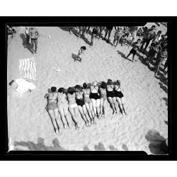 Girls on the beach Coney...