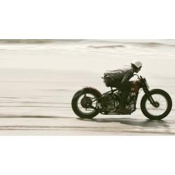 Riding on Harley Davidson...