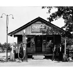 Coca-Cola-Gas Station...