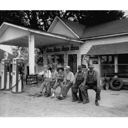Sinclair, Gas Station Iowa...